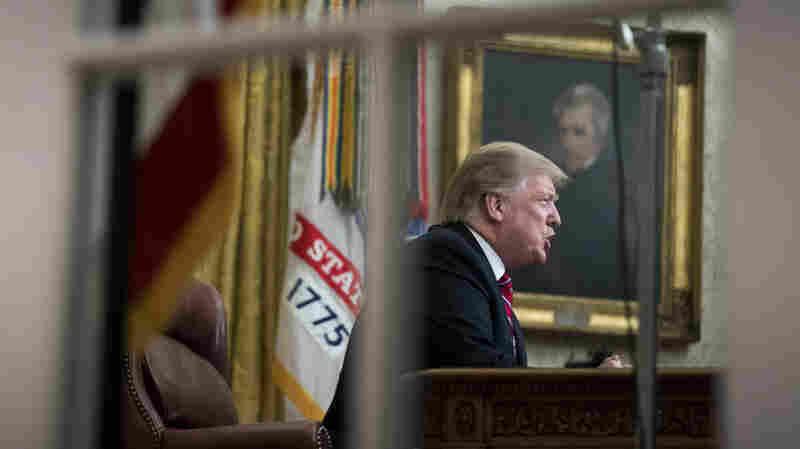 7 Takeaways From President Trump's Oval Office Address