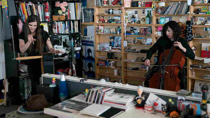 Carolina Eyck and Clarice Jensen: Tiny Desk Concert