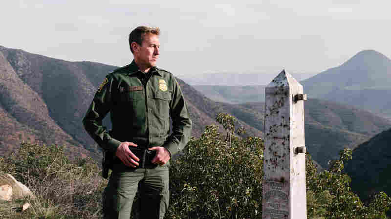 Border Patrol Makes Its Case For An Expanded 'Border Barrier'