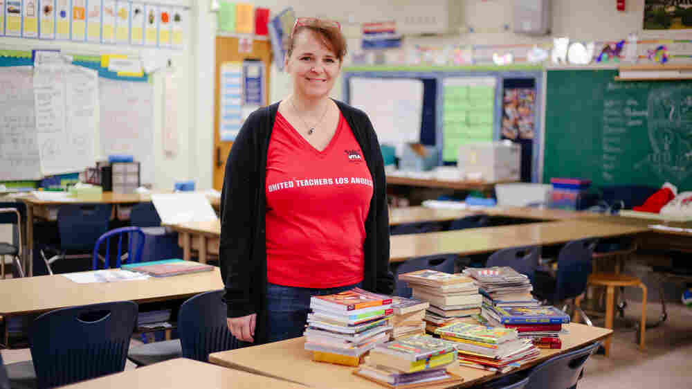 'I'm A Little Stressed': LA Teachers And Parents Brace For A Possible Strike