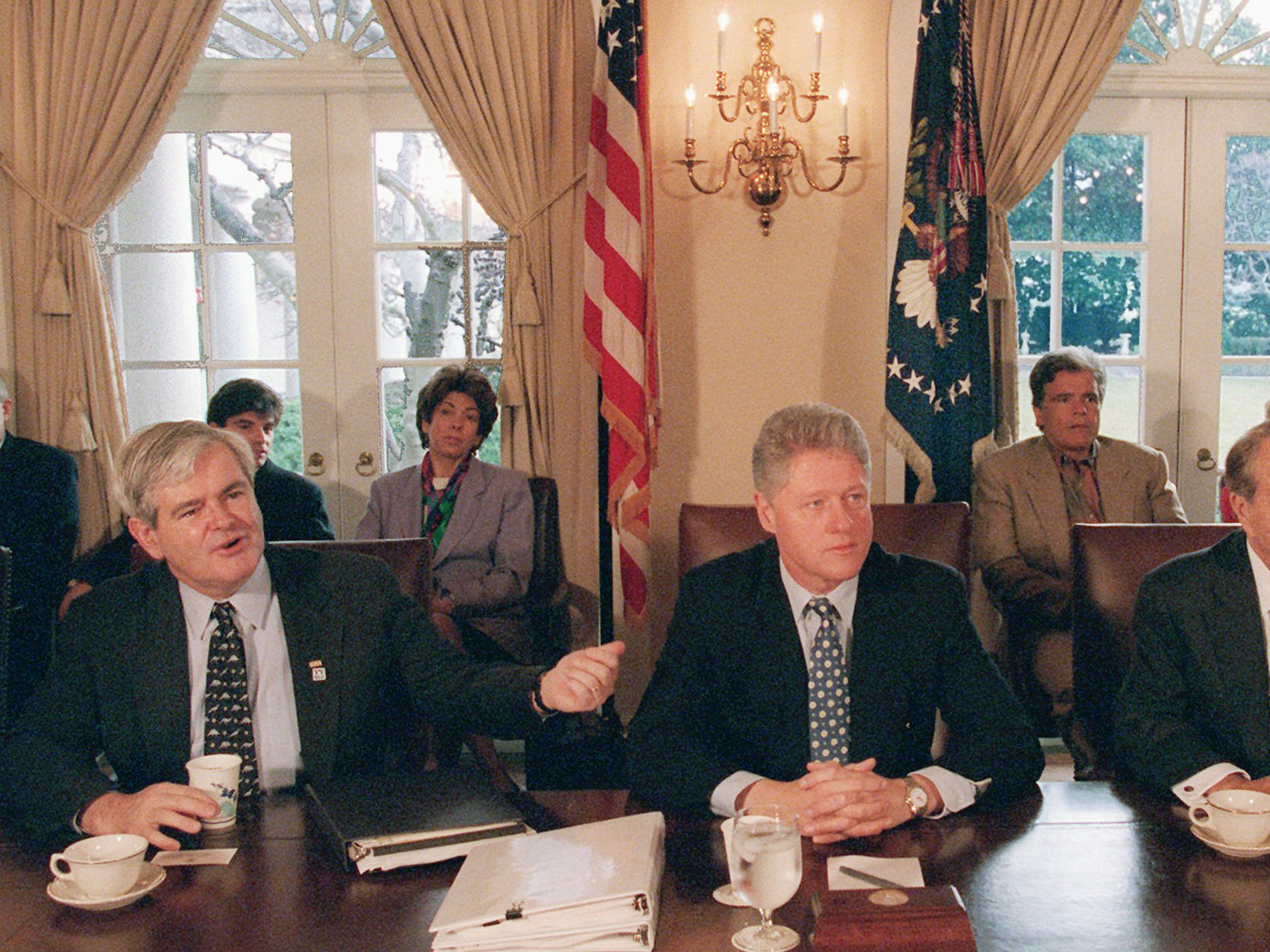 No More Shutdowns >> The Longest Government Shutdown In History, No Longer — How 1995 Changed Everything   NCPR News