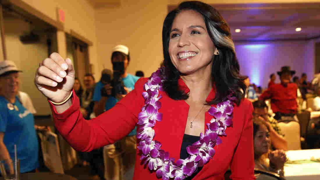 U.S.  congresswoman Gabbard will run for President
