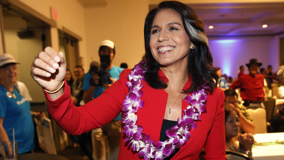 Rep. Tulsi Gabbard, D-Hawaii, has announced she's running for president in 2020. The 37-year-old Gabbard said in a CNN interview slated to air Saturday night that she will be formally announcing her candidacy within the week. (Marco Garcia/AP)