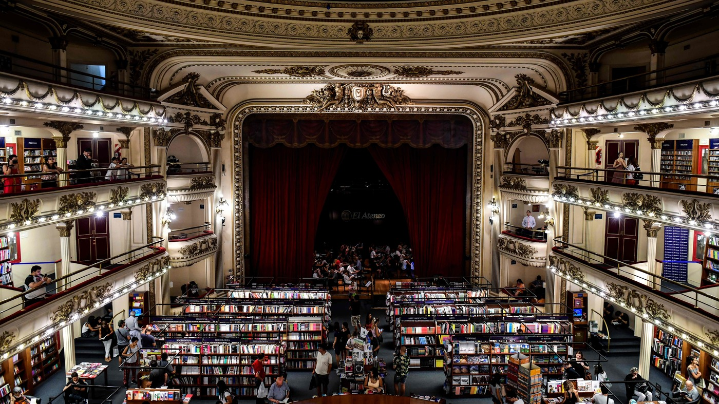 Inside 'The World's Most Beautiful Bookstore' In Argentina