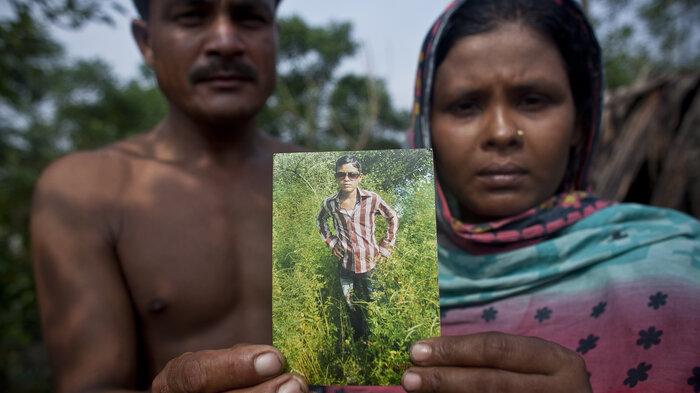 human trafficking : NPR