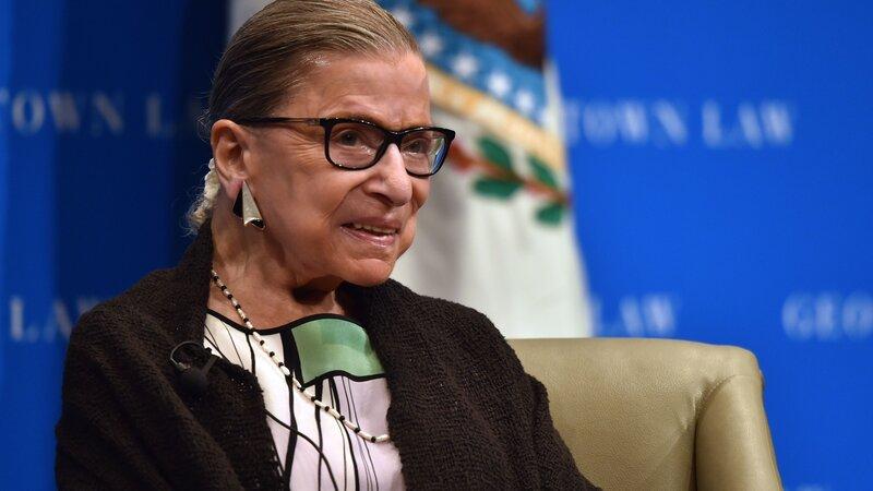 db007b01 Justice Ruth Bader Ginsburg Has No Remaining Signs Of Cancer : NPR