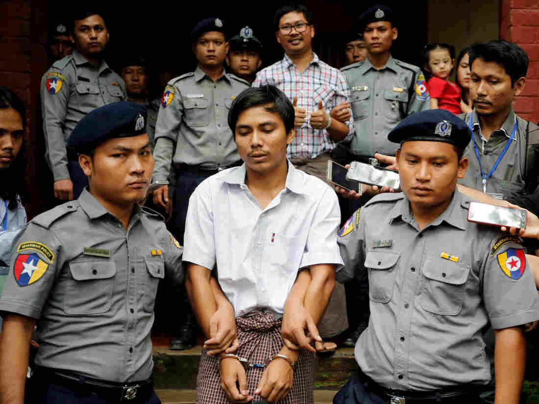 Myanmar Reuters journalists lose appeal against seven-year sentence