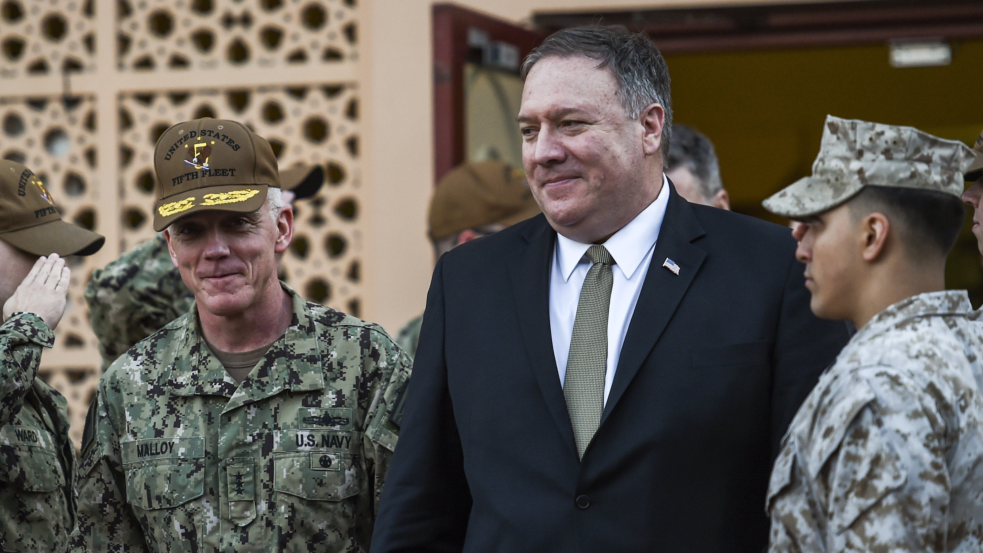 U.S. Secretary of State Mike Pompeo visited Bahrain on Friday