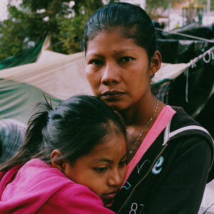 'I'm A Survivor Of Violence': Portraits Of Women Waiting In Mexico For U.S. Asylum