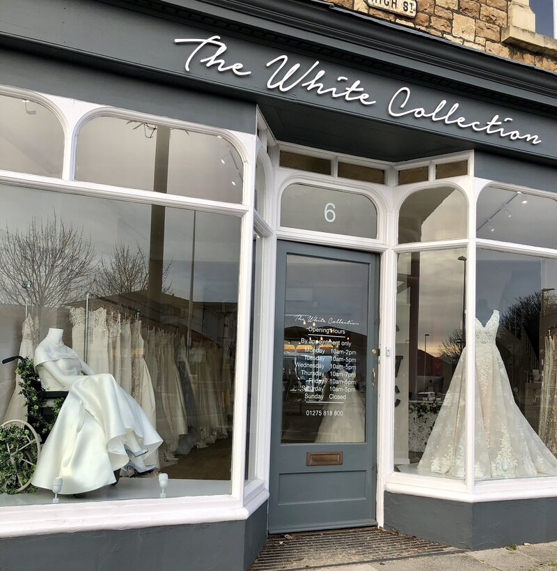 4b0f73f1a2852 U.K. Bridal Boutique Celebrates Wedding Dresses And Wheelchairs : NPR