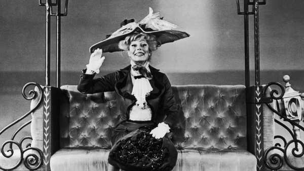 """American actress and singer Carol Channing starred in the musical """"Hello Dolly!"""" in New York City in 1964. She died at 97."""