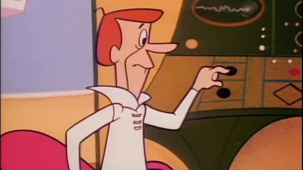 George Jetson at work