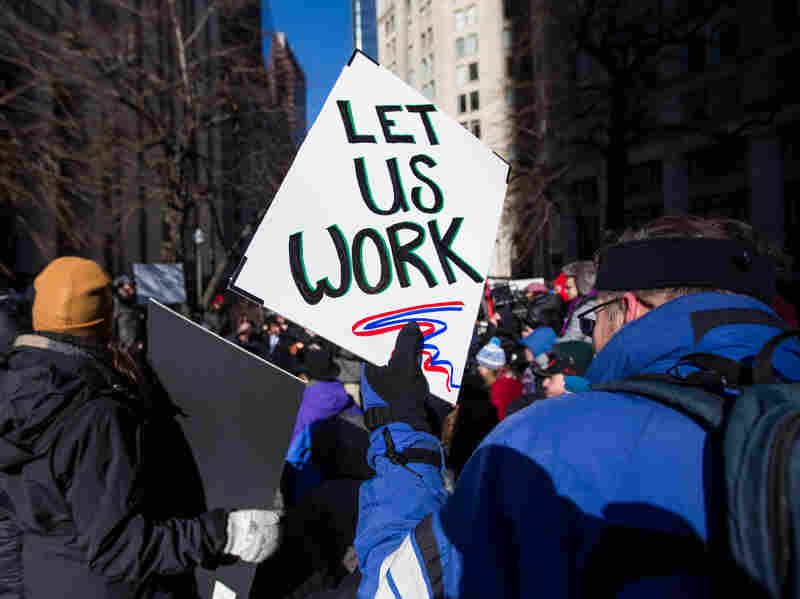 Furloughed Federal Workers File For Unemployment