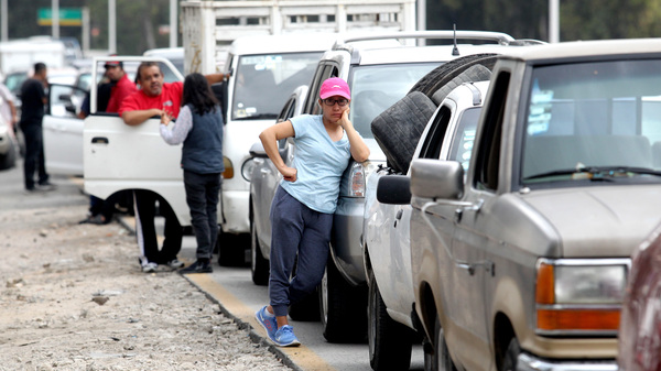 Mexico s President Fights Gas Crisis, While Mexicans Endure Long Lines With Jokes