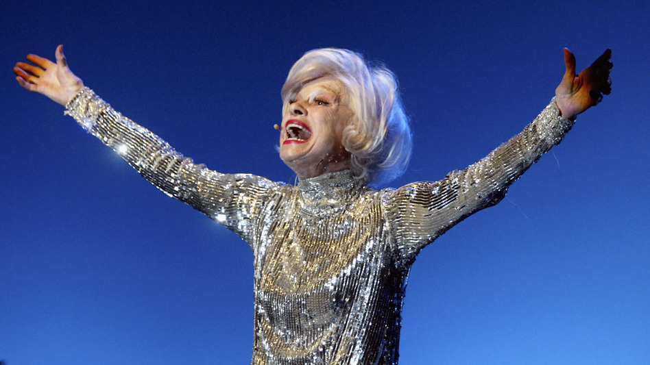 Carol Channing, performing in Los Angeles in 2004. Channing died Tuesday at age 97. (Frazer Harrison/Getty Images)