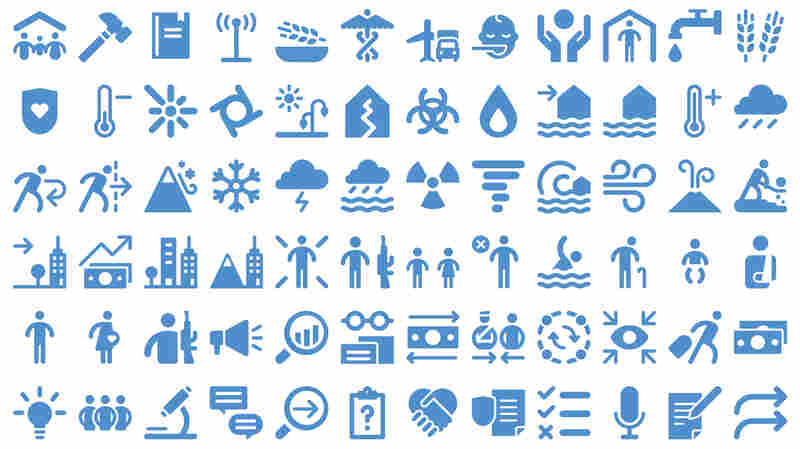 Can You Guess The Meaning Of These Humanitarian Icons?