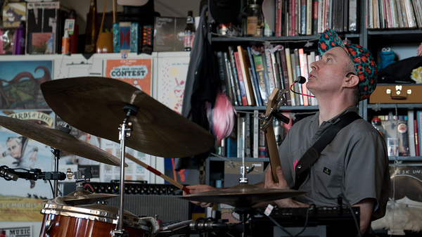 """Nate Wood """"fOUR"""" performs a Tiny Desk Concert on Dec. 12, 2018."""
