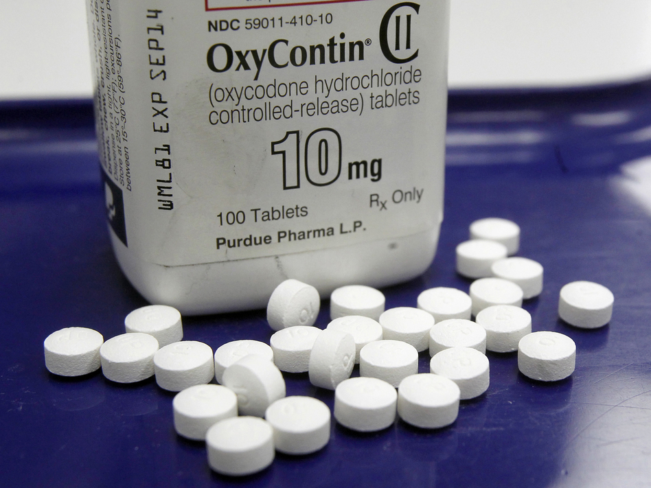 A filing by Massachusetts Attorney General Maura Healey detailed the Sackler family's role in Purdue Pharma's marketing of OxyContin. (Toby Talbot/AP)