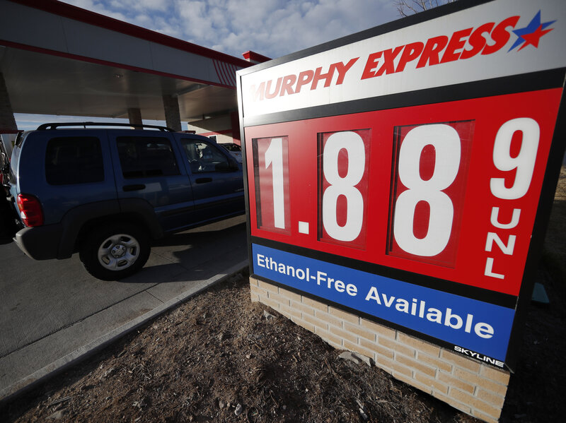 Low Gas Prices >> Like Those Low Gas Prices Thank The Global Oil Glut Npr