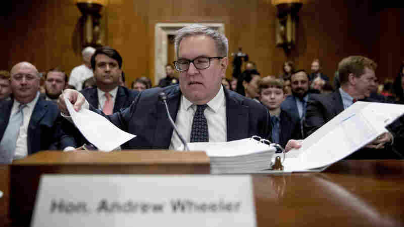 Republicans Praise, Democrats Grill Andrew Wheeler In EPA Chief Confirmation Hearing