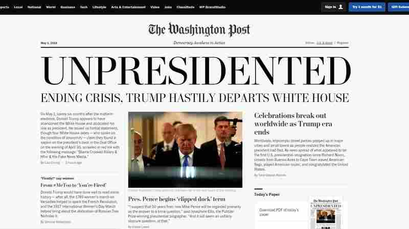 Real Fake News: Activists Circulate Counterfeit Editions Of 'The Washington Post'