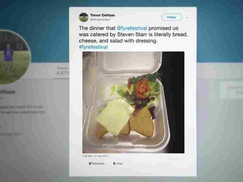 Fyre Festival caterer who wasn't paid raises $70K through donations