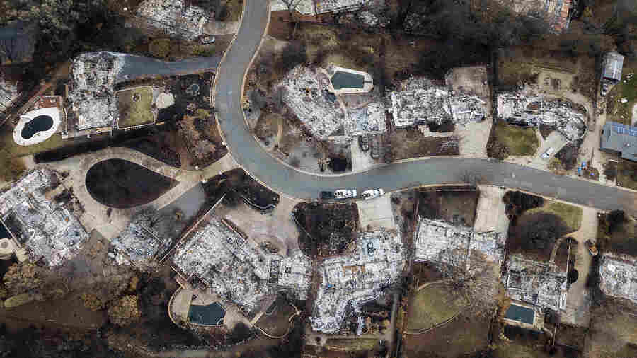 Shutdown Threatens To Stall Recovery In Wildfire-Ravaged Paradise, Calif.