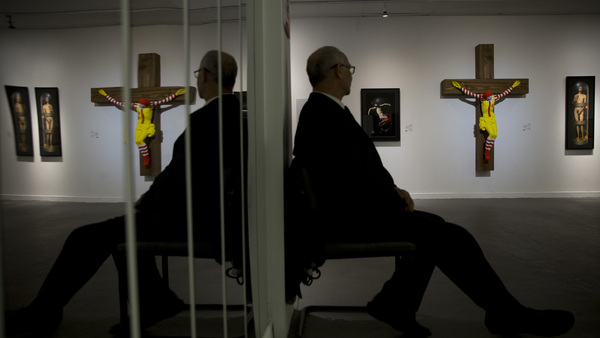 'McJesus' Sculpture To Be Pulled From Israeli Museum After Violent Protests