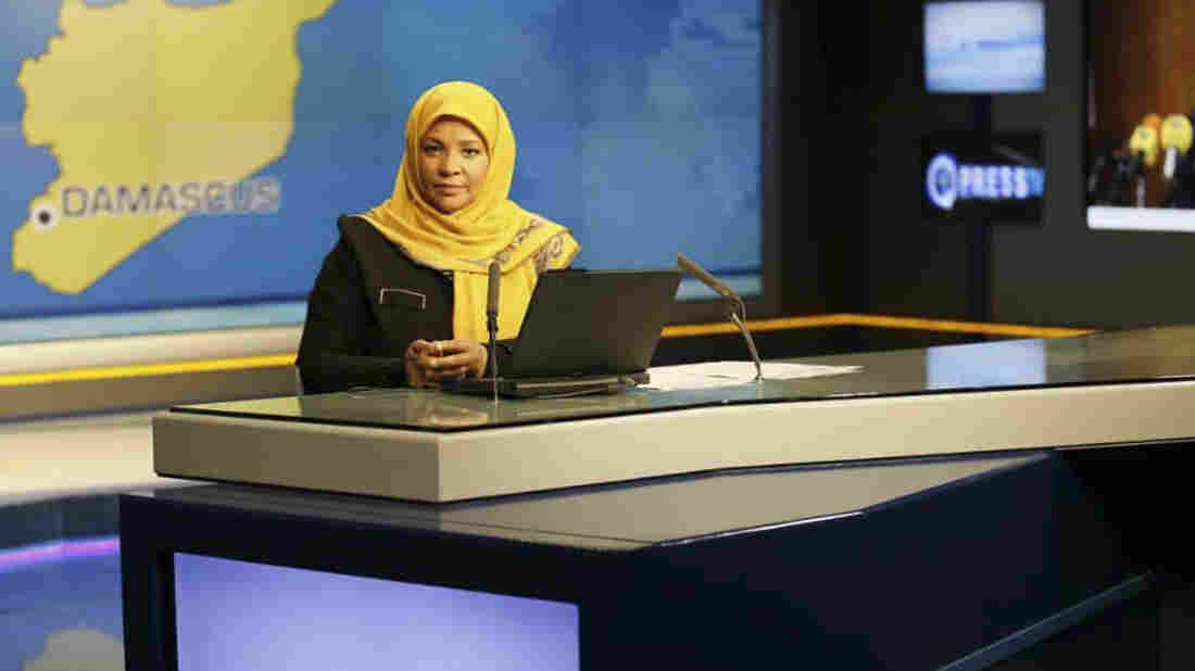 Iranian TV anchor arrested in US