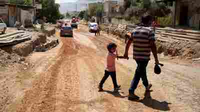 Palestinian School And Sewage Projects Unfinished As U.S. Cuts Final Bit Of Aid