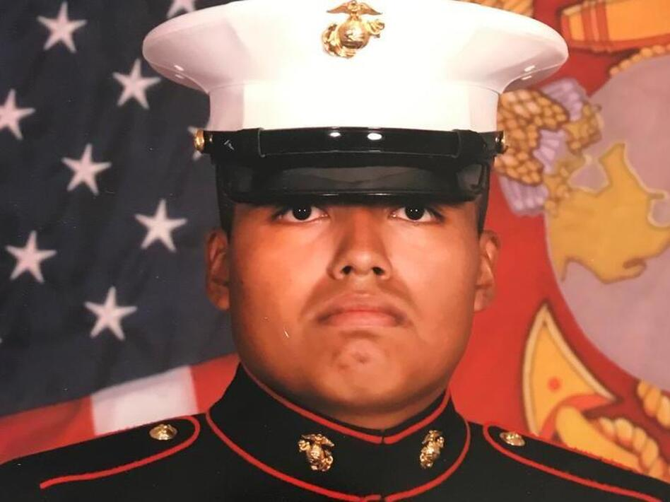 Federal immigration authorities took Jilmar Ramos-Gomez, a U.S. citizen and veteran, into custody to face possible deportation.