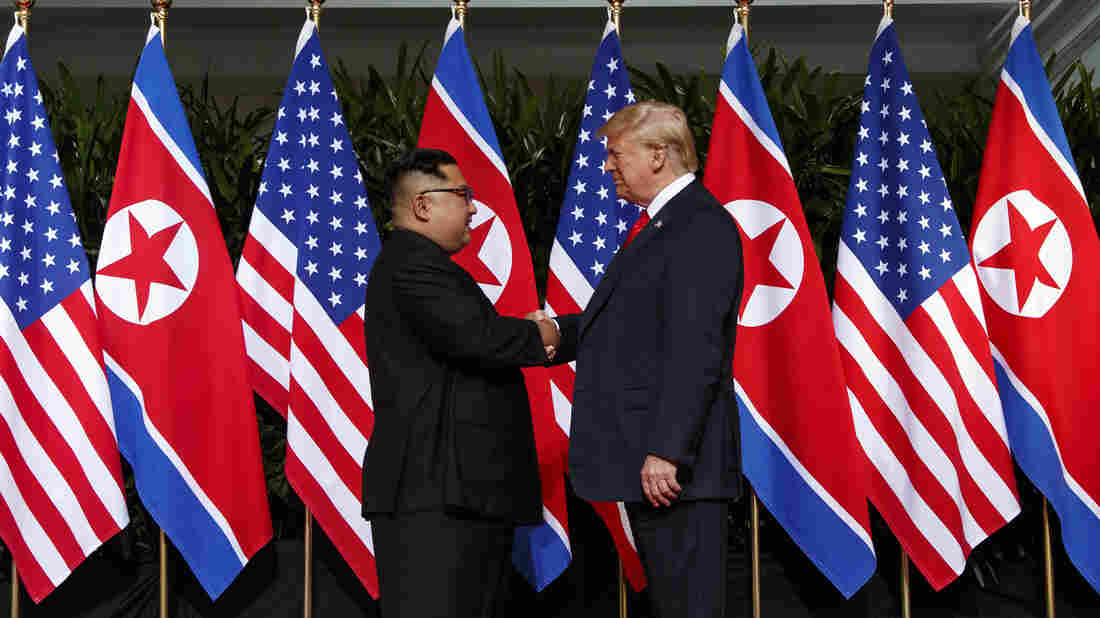 Top North Korean envoy meets Trump at White House