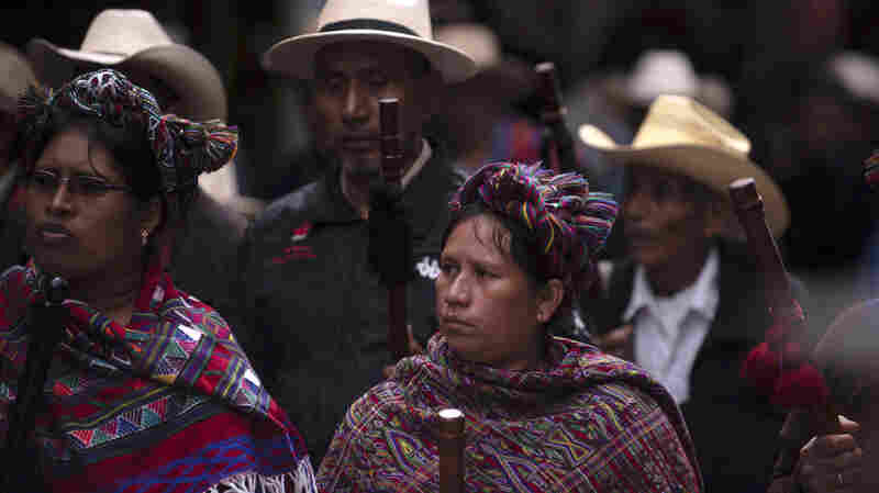 Killings Of Guatemala's Indigenous Activists Raise Specter Of Human Rights Crisis