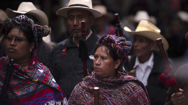 Killings Of Guatemala s Indigenous Activists Raise Specter Of Human Rights Crisis