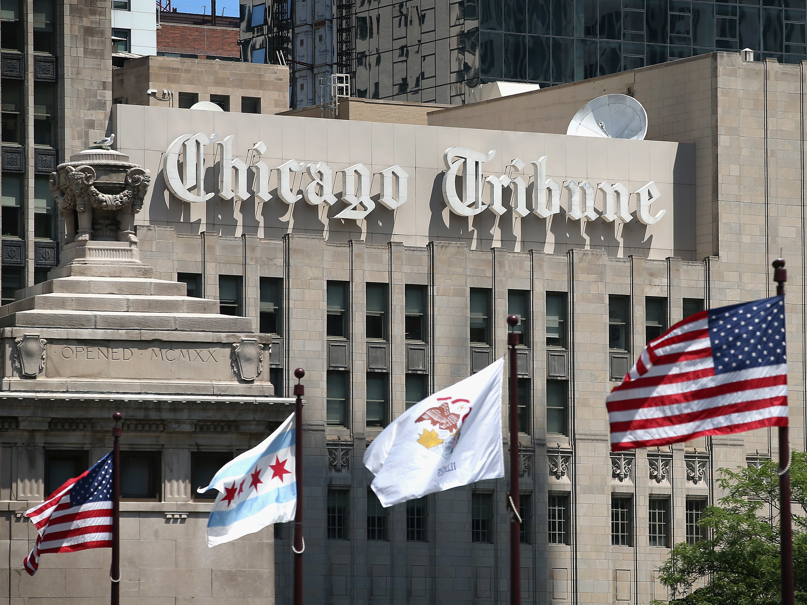 Tribune Publishing CEOs Are Out After A Series Of Controversies