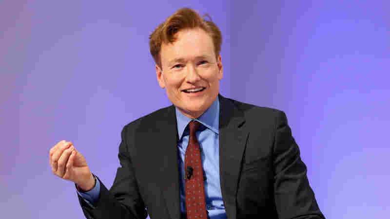Comedian Conan O'Brien speaks at The New Museum on May 17, 2016 in New York City.
