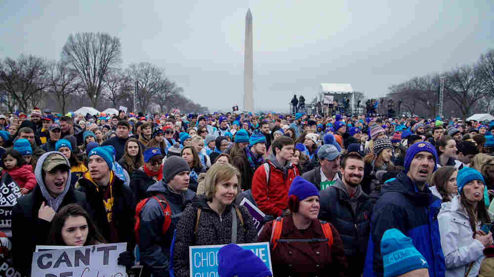 With Higher Stakes In The Abortion Debate, Activists March On Washington