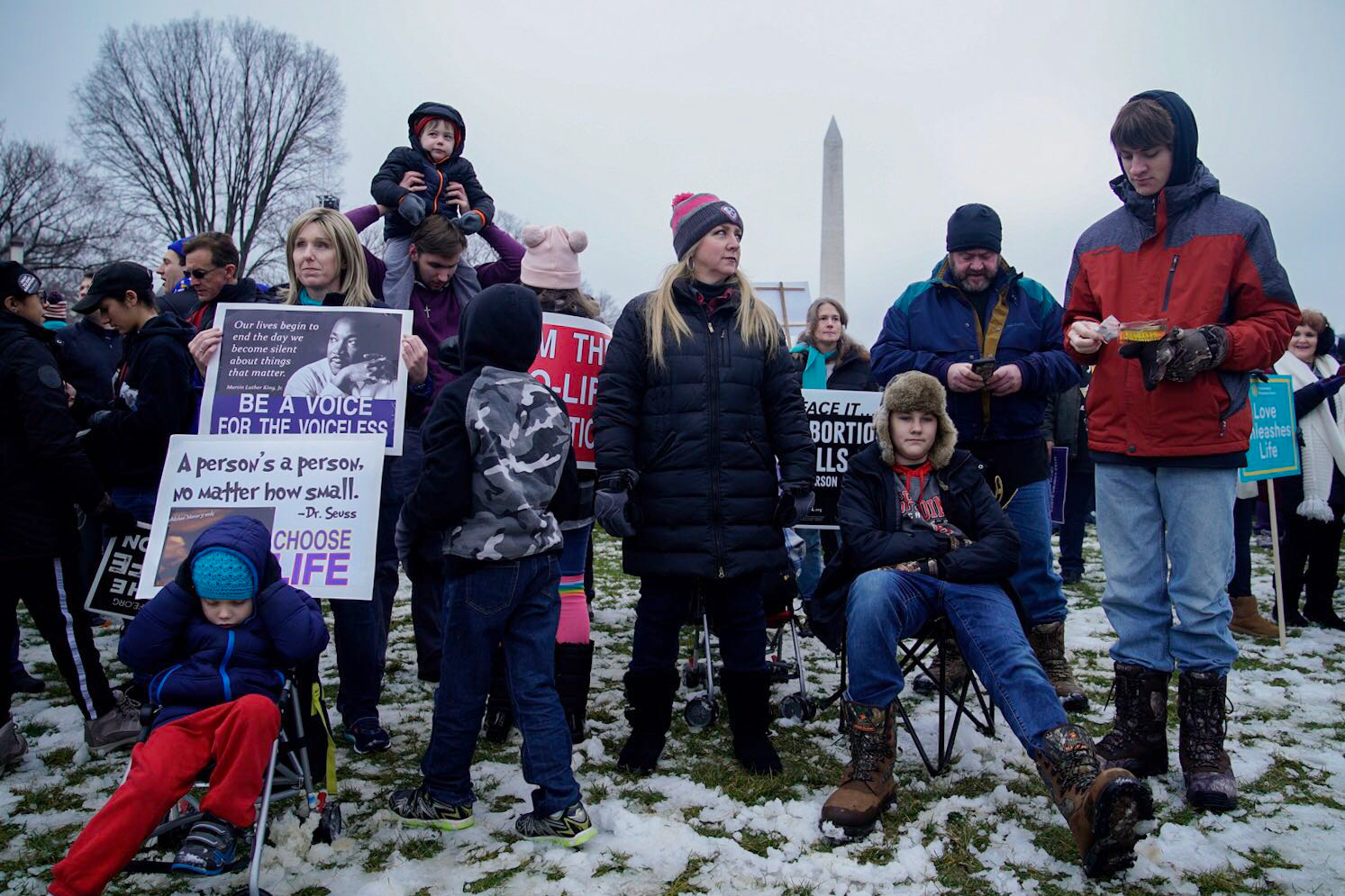With Higher Stakes In The Abortion Debate, Activists March On