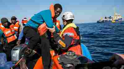 More Than 100 Migrants Feared Dead After Raft Sinks In Rough, Icy Mediterranean Sea