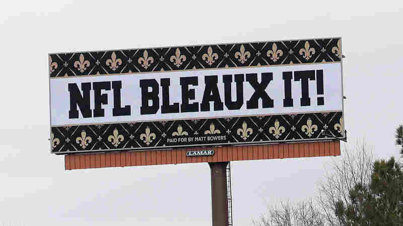 Angry With NFL After No-Call, Saints Fans Resort To Lawsuits, Billboards