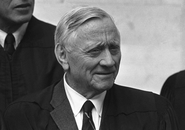 Supreme Court Justice William O. Douglas' continued service on the bench after he had a stroke created problems for his colleagues.