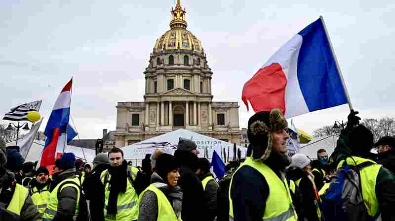 How France's Yellow Vest Protests Damaged An Already Weakened President Macron