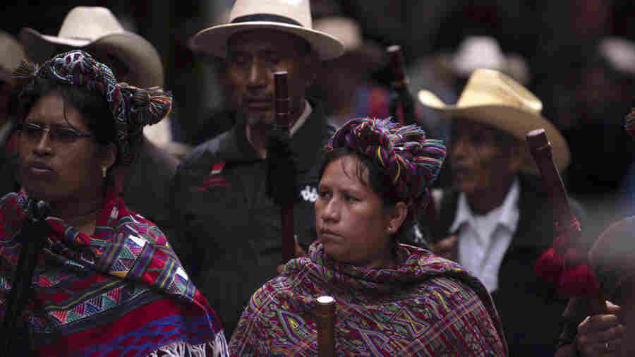 Killings Of Guatemala's Indigenous Activists Raise Specter Of Human Rights Crisis