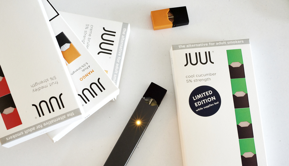 Juul Labs, the maker of e-cigarettes popular with young, has come under fire from health officials. Since the spring of 2018 the company has been lobbying the federal government. (Gabby Jones/Getty Images)