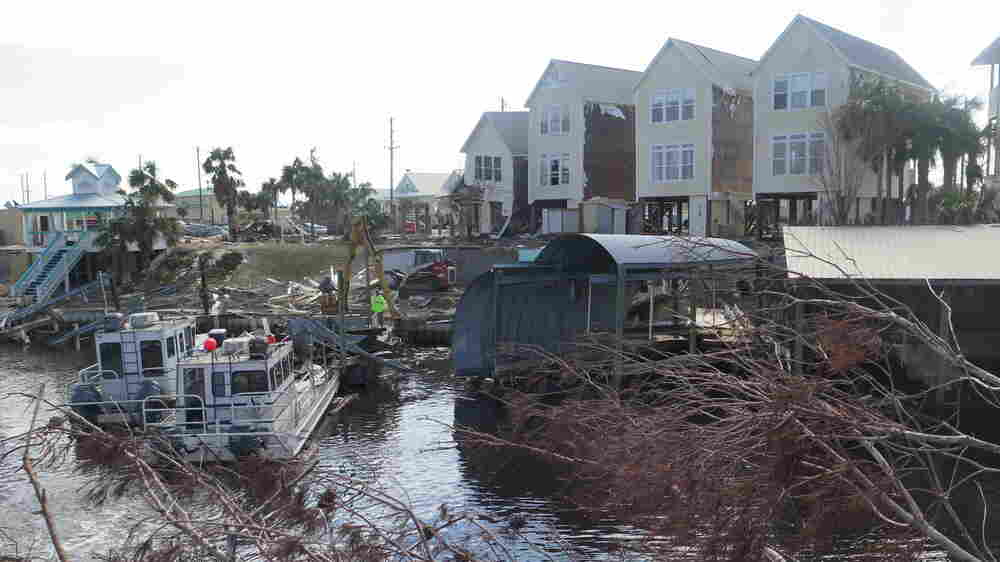 'Struggling Here With Just Living' In The Aftermath Of Hurricane Michael