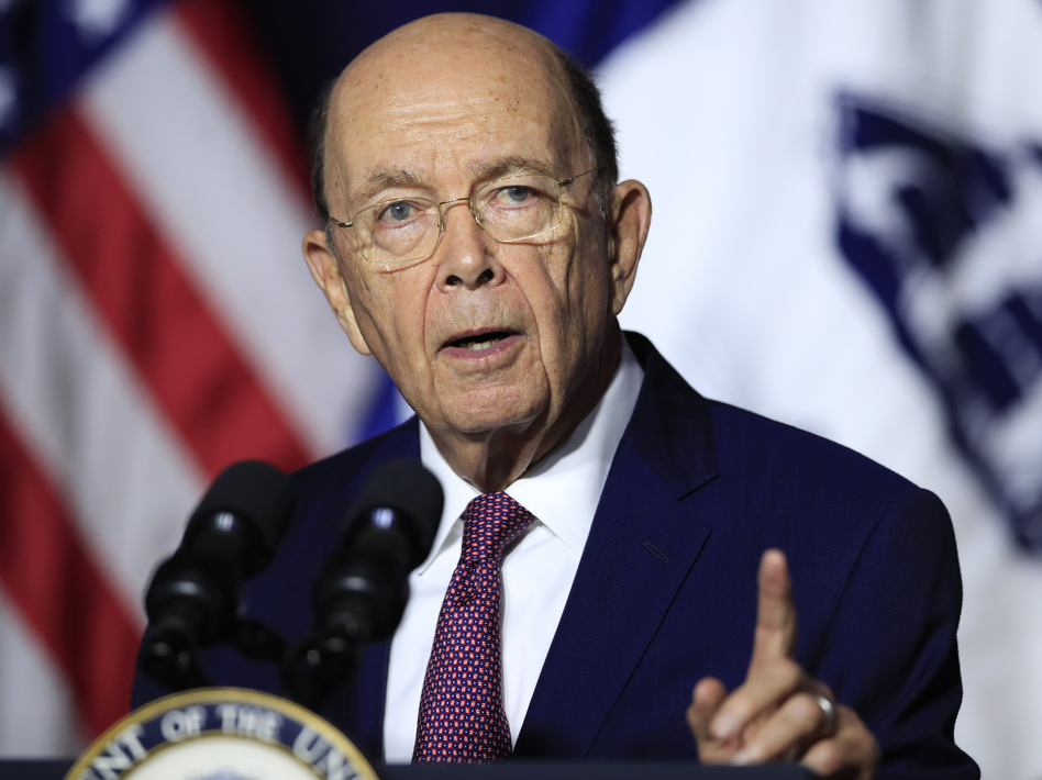 Commerce Secretary Wilbur Ross said he didn't understand why furloughed federal workers, or those working without pay, might struggle or need to visit food banks. Democrats called him out of touch. (Manuel Balce Ceneta/AP)