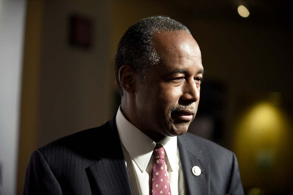 """Housing and Urban Development Secretary Ben Carson said the country's leaders should be focused on federal workers affected by the shutdown and not """"some political victory."""" (Shannon Finney/Getty Images)"""