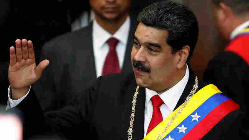 State Department Orders Some Diplomatic Staff Out Of Venezuela In Political Crisis