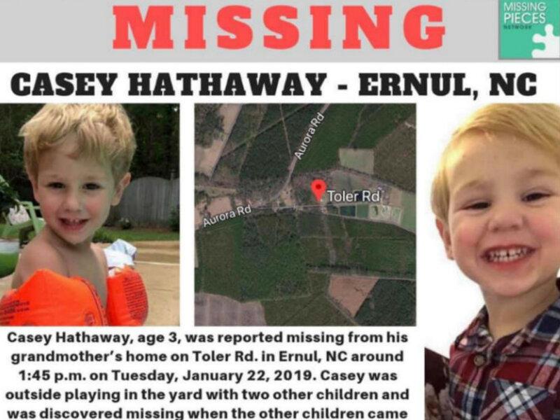 Casey Hathaway: Missing 3-Year-Old Boy Found Alive In North Carolina