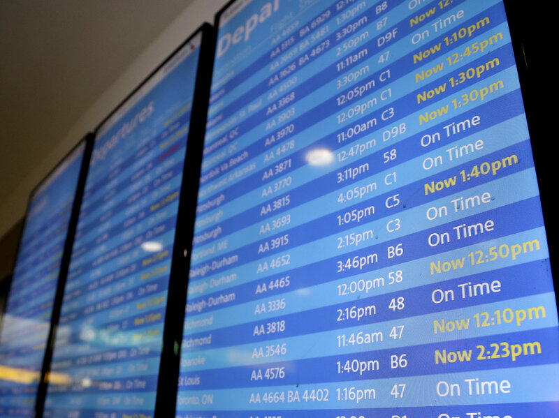 Shutdown's Toll Reached The Skies As Staff Shortages Caused